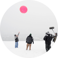 Scott Steiger talks to CNN about the unique lake-effect weather conditions at Oswego.