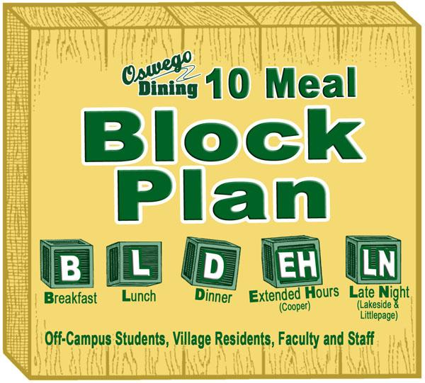 10 Meal Block Plan