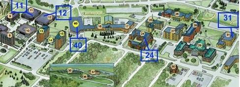Campus Catering Map