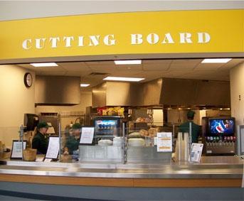Cutting Board dining
