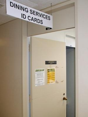 ID Services door