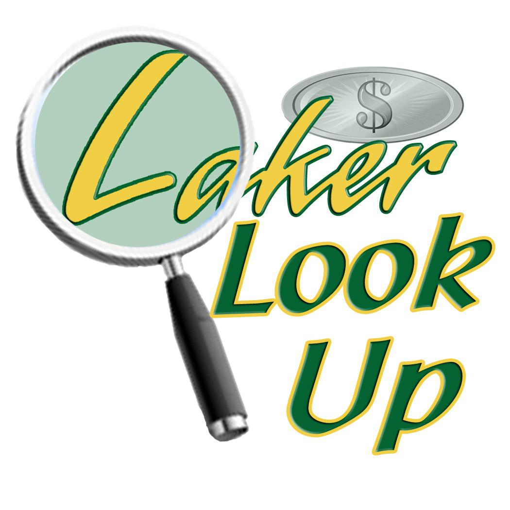 Laker Look Up logo
