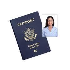 Picture of passport and passport photo