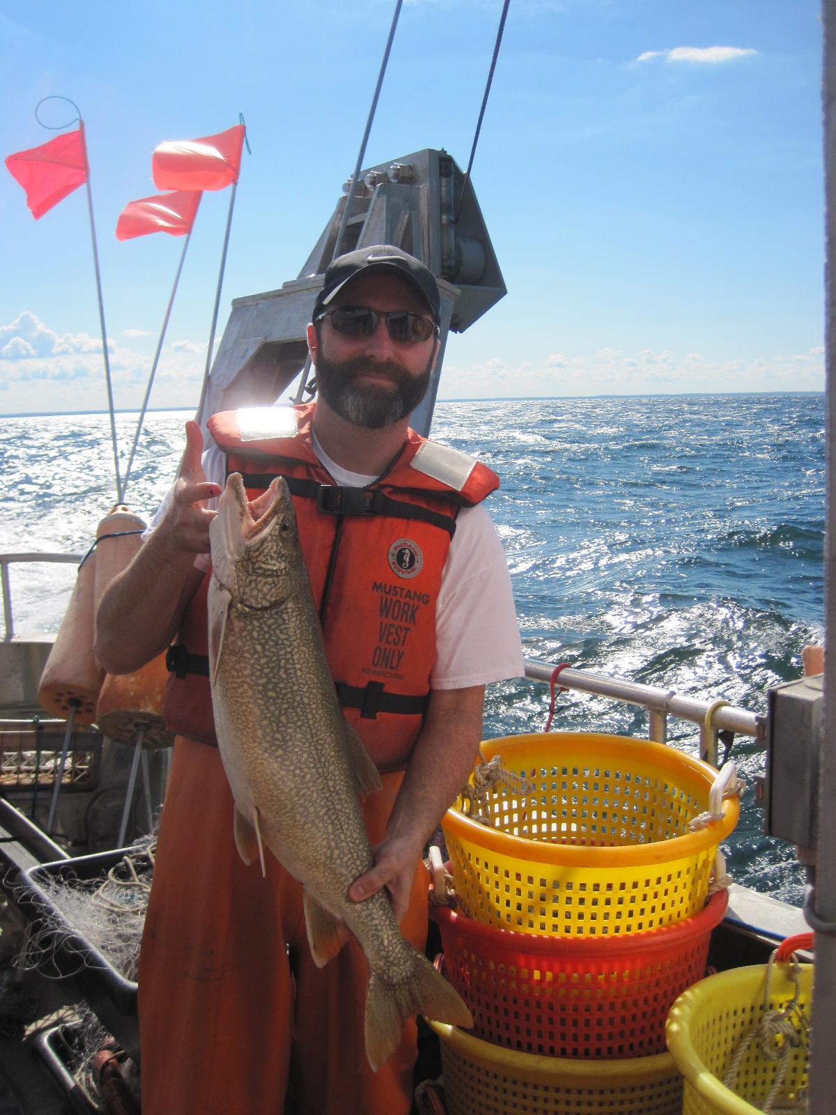 Jim MacKenzie lake trout