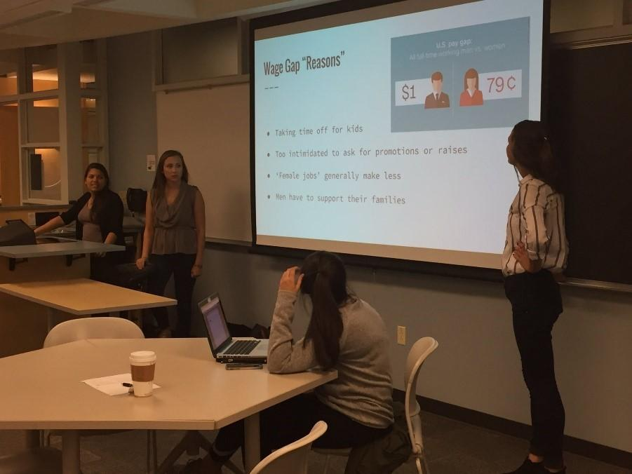 Collaboration with Latino Student Union on Latinas and the Wage Gap