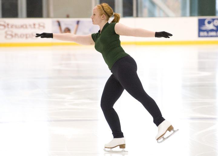 Figure skater SUNY Oswego