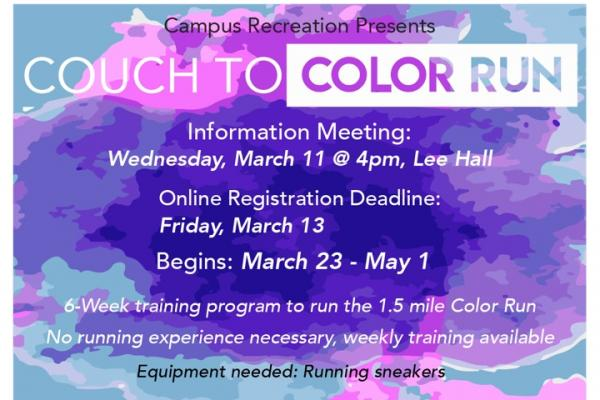 couch to color run