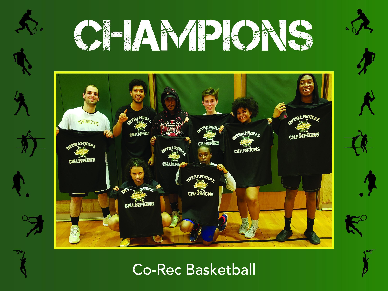 Corec basketball Champs