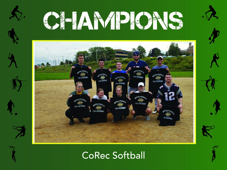 CoRec Softball Champs