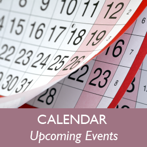 calendar upcoming events
