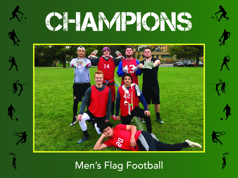 Mens flag football