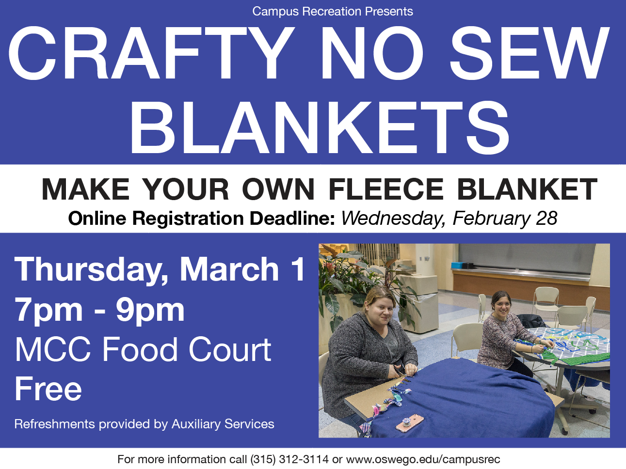 No Sew Fleece Blankets