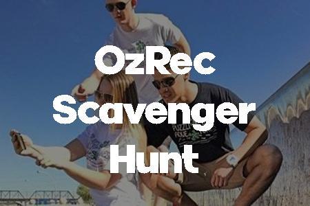 oz rec scavenger hunt