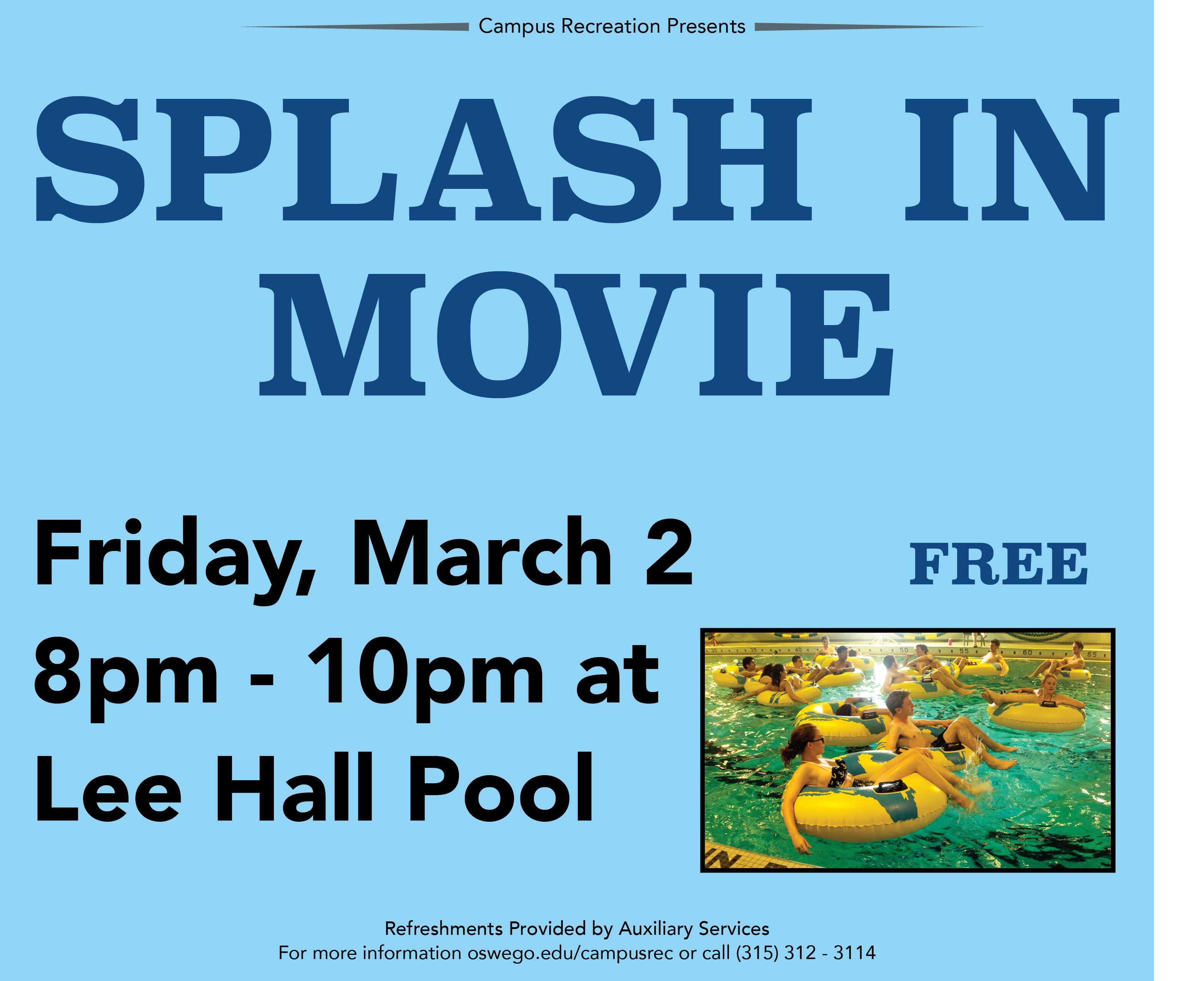 Splash in Movie