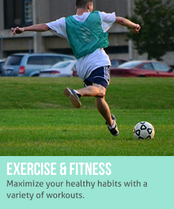 Exercise and fitness: maximize your healthy habits with a variety of workouts