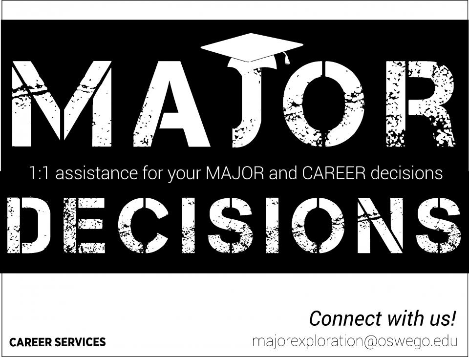 Major Decisions Flyer