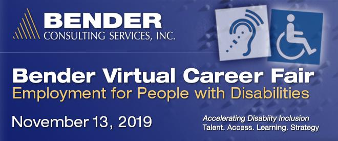 Bender Consulting Virtual Career Fair
