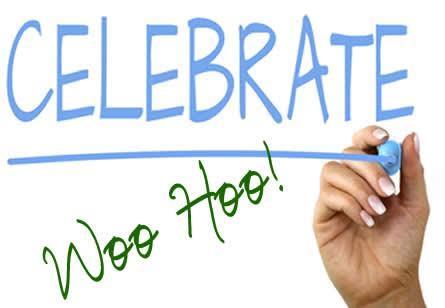 Celebrate - Woo Hoo!