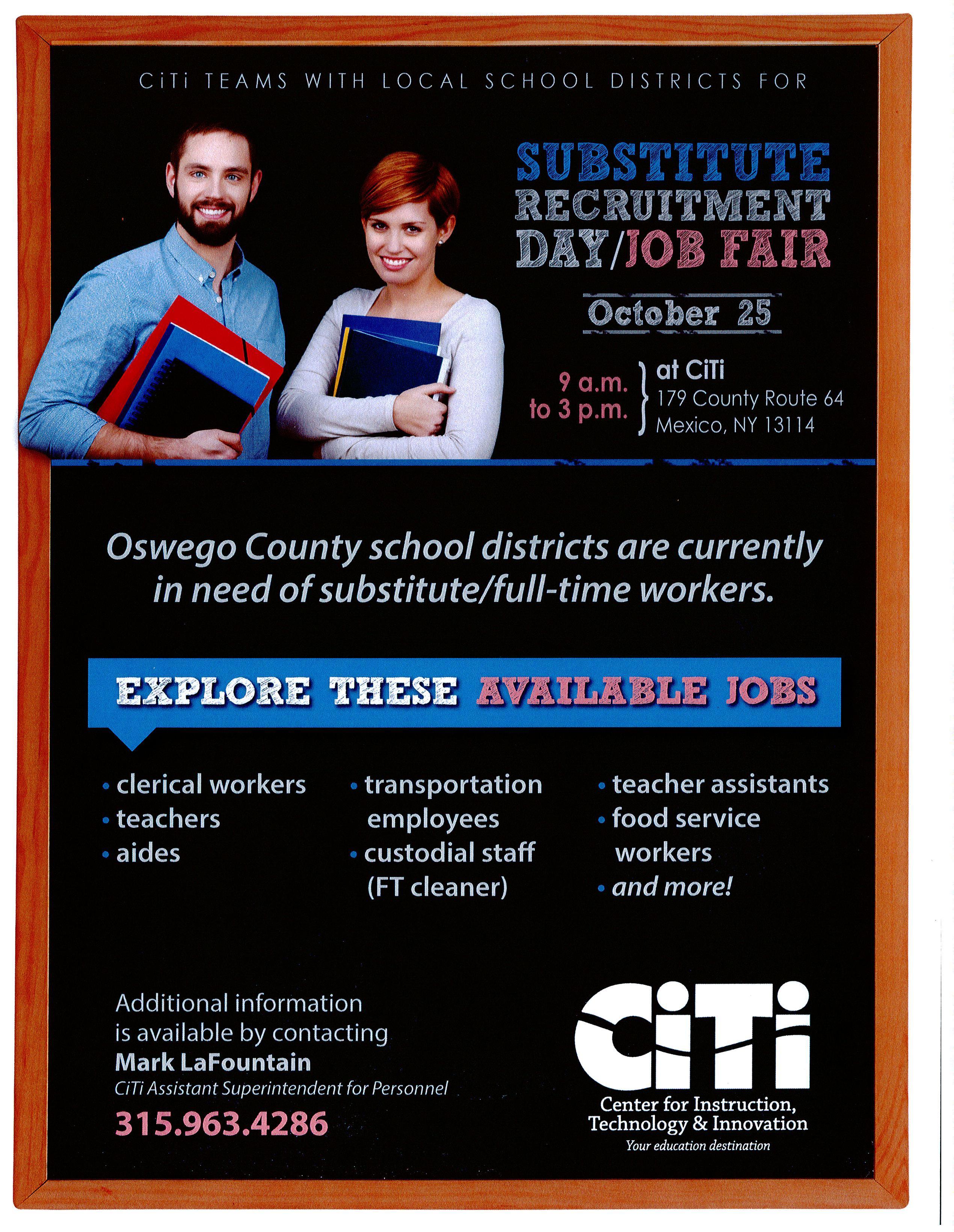 CiTi Recruitment Day - Job Fair Details