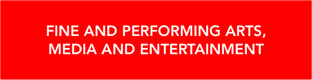 fine and performing arts, media and entertainment