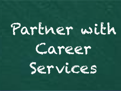 Partner with Career Services