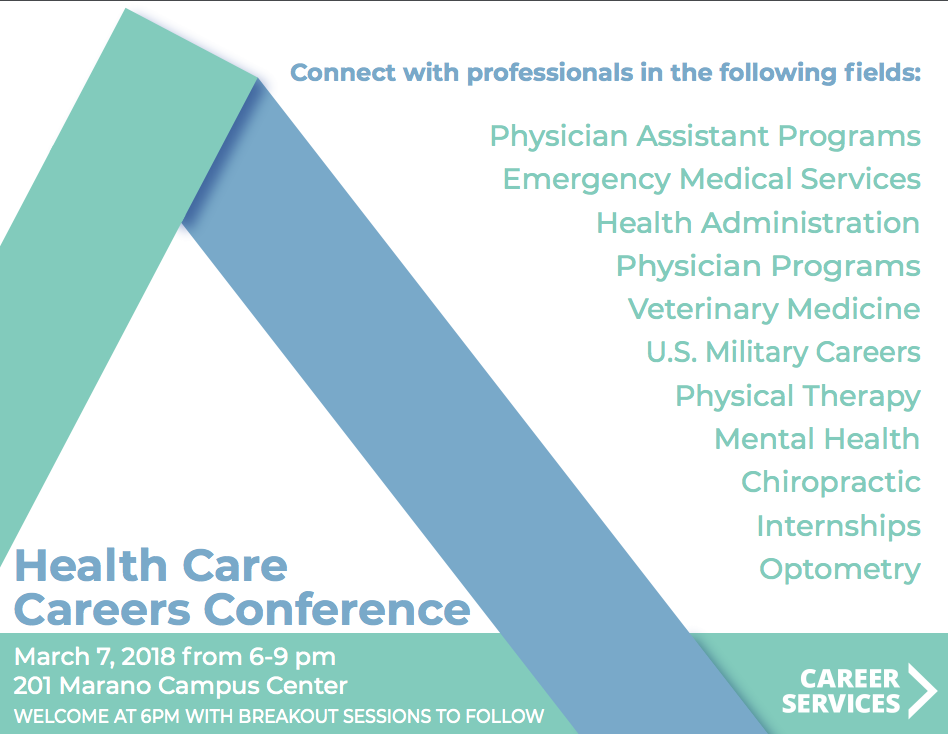 Health Care Careers Conference Flyer