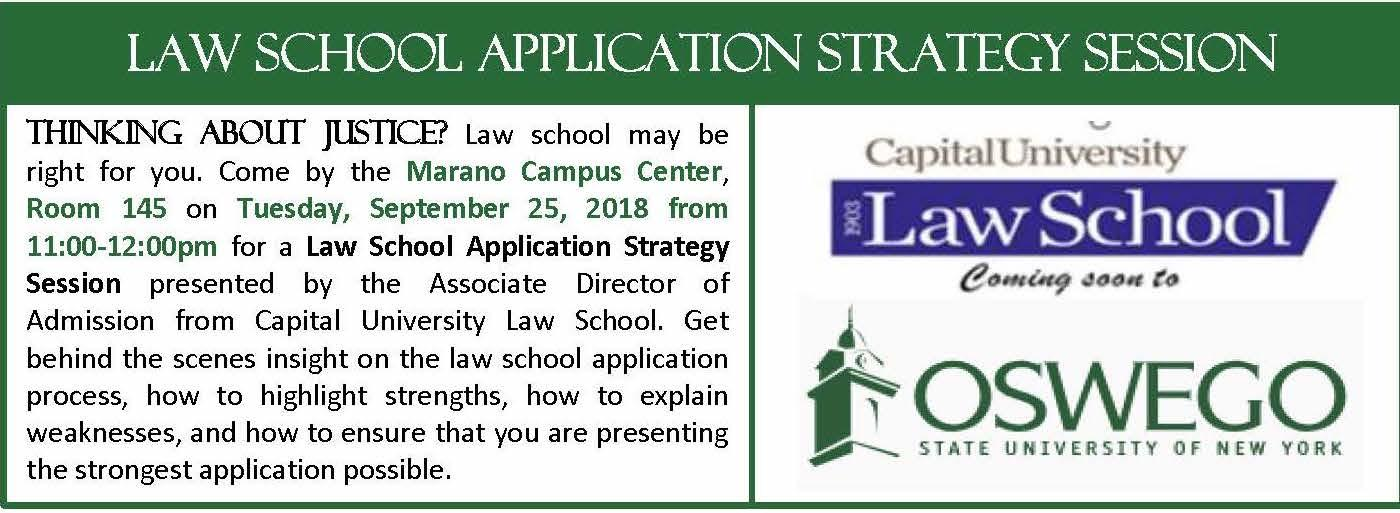 How to Apply to Law School Seminar
