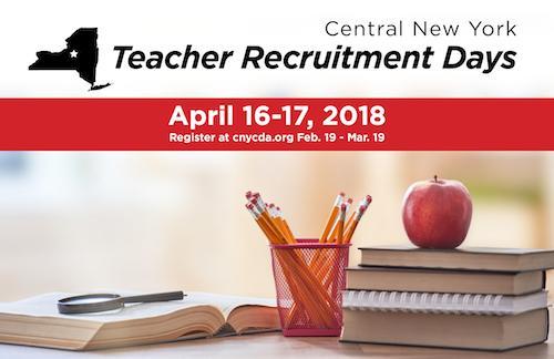Central New York Teacher Recruitment Days