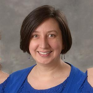 Faculty member Julie Koeppe