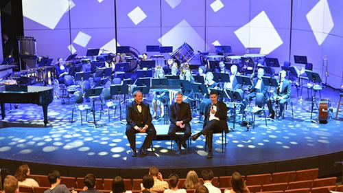 Central Winds concert in renovated Waterman Theatre