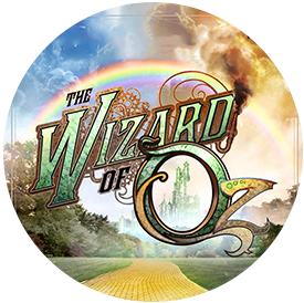 Wizard of Oz production poster