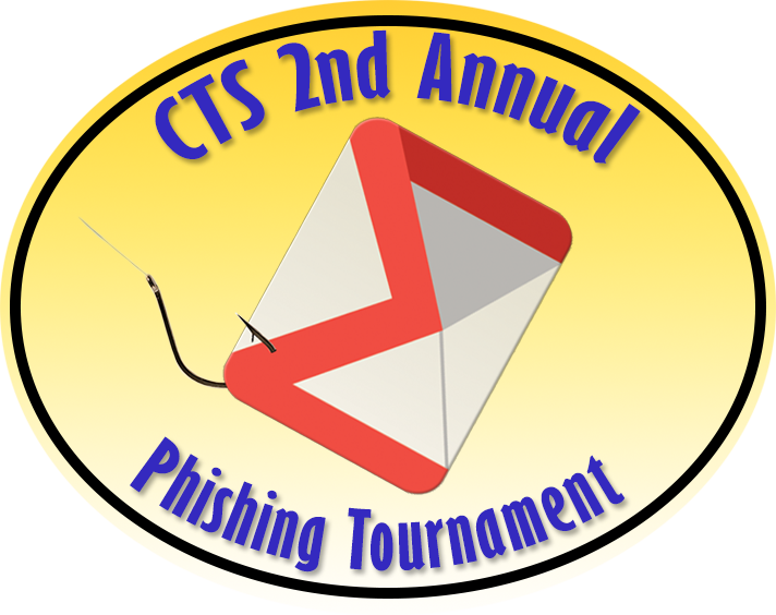 Logo for 2nd Annual CTS Phishing Derby