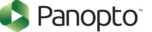 Panopto logo with text.