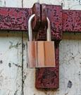 Photo of padlock.