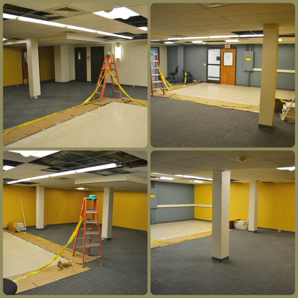 Renovation Continues, New Paint and Carpet