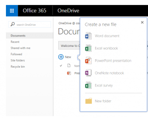 office 365 onedrive