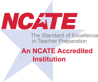 NCATE accreditation stamp