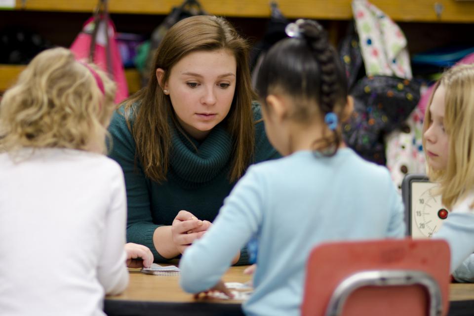 Childhood student teaching