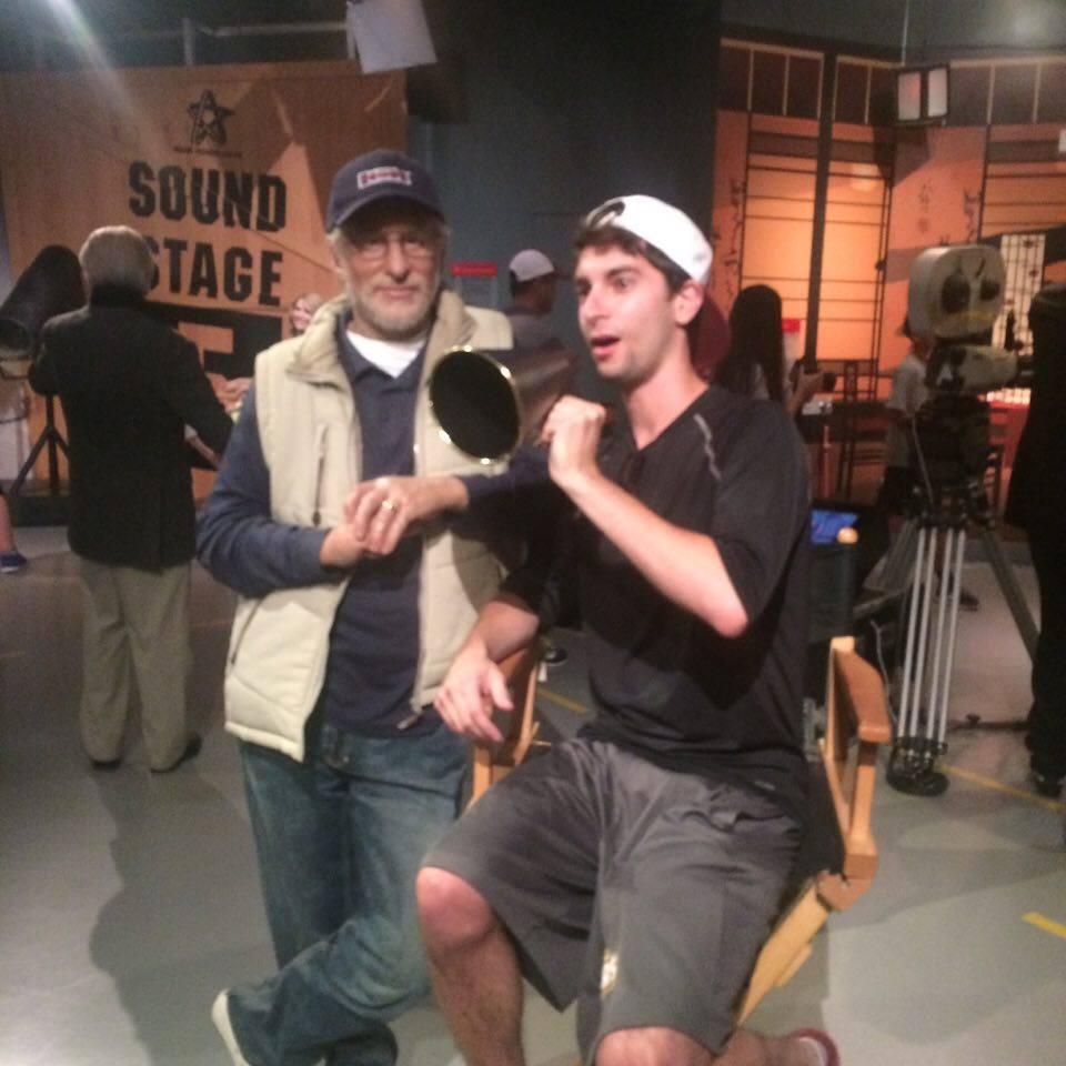 Jordan Rockower-wax Spielberg