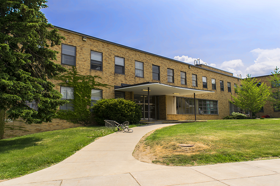 The Mackin Complex Is Consists Of Two Residence Halls And One Dining Hall.  Mackin Dining Hall Is Housed Between The Residence Halls, With Lonis To The  North ...