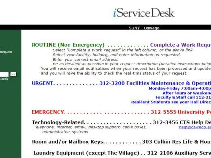 iServe Page
