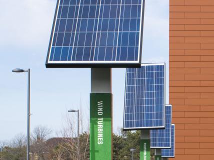 Shineman solar panels - LEED