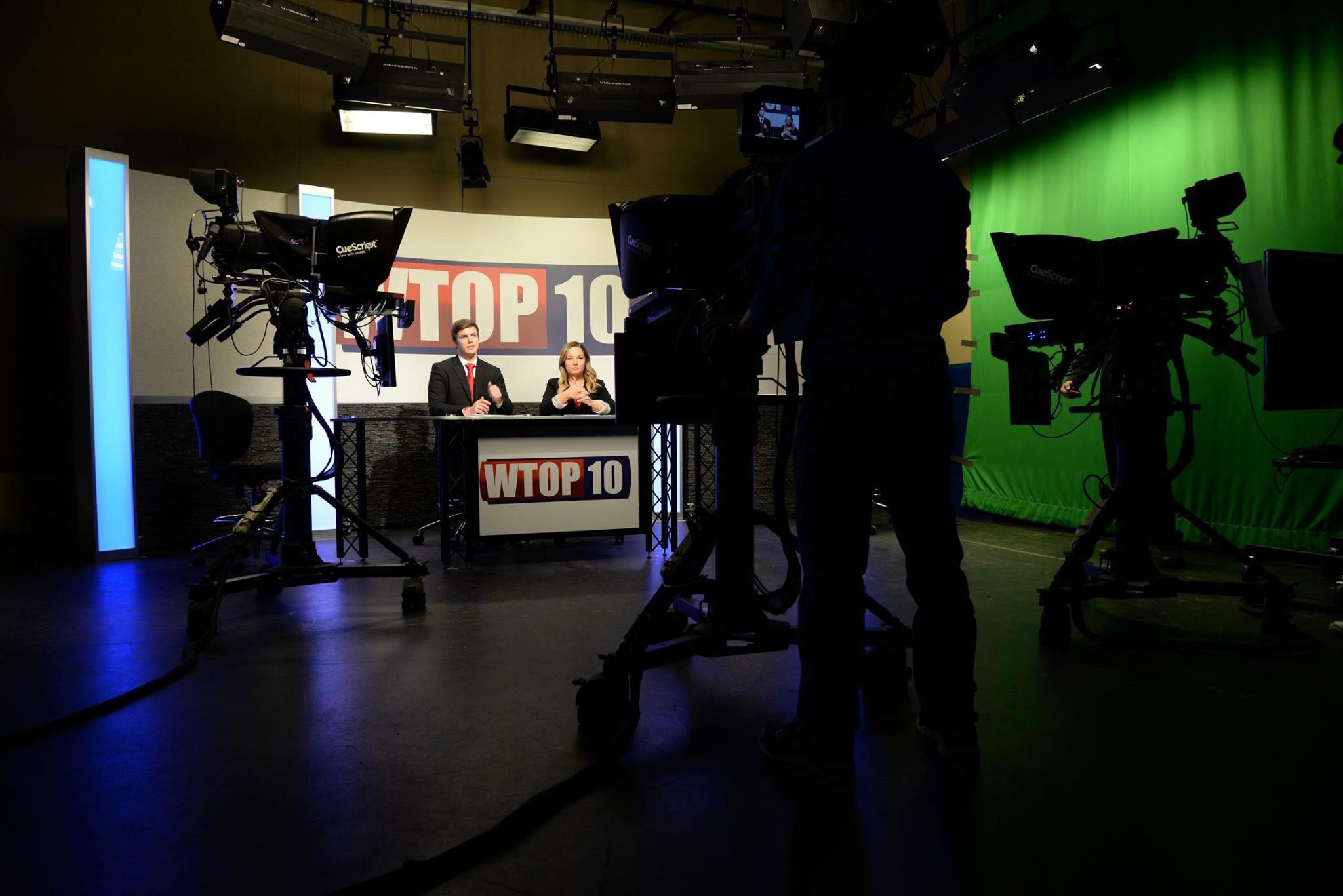 WTOP-10 Studio