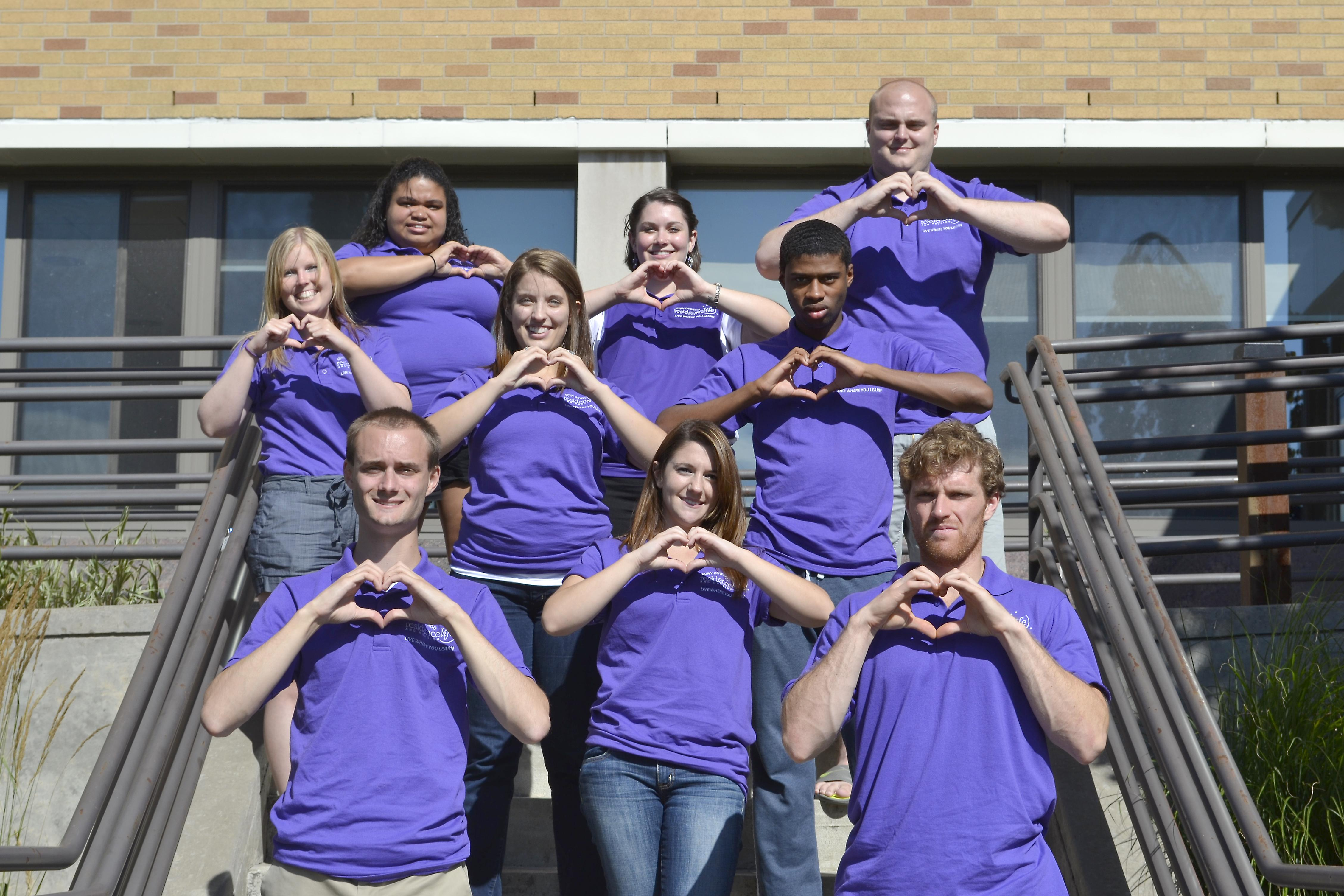 Hart Hall staff