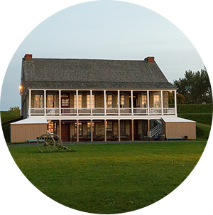 View of Fort Ontario