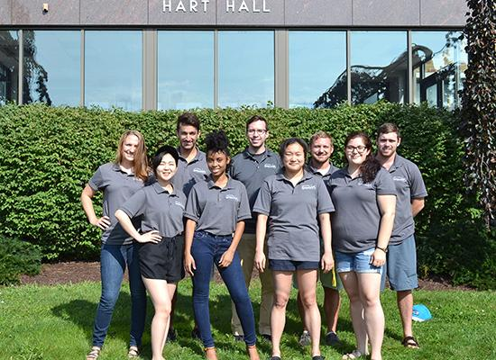 Hart Hall staff.
