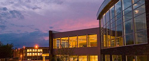 Campus Center sunset
