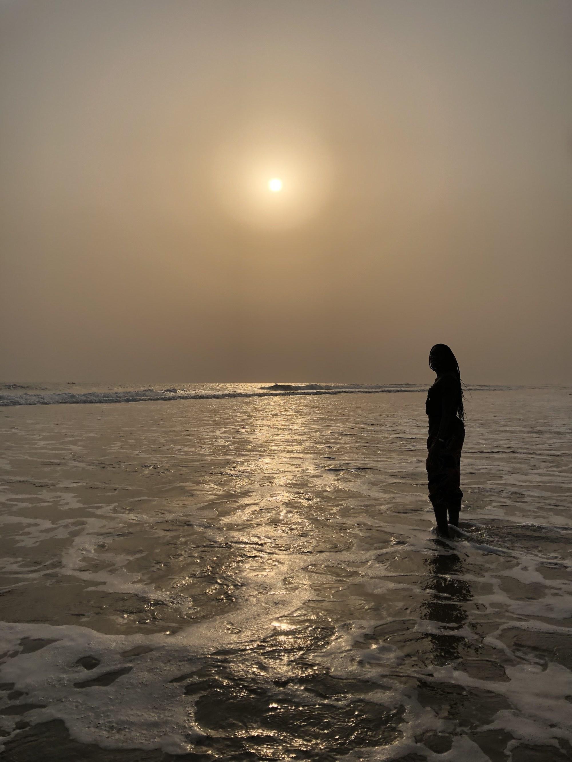Fadi on beach