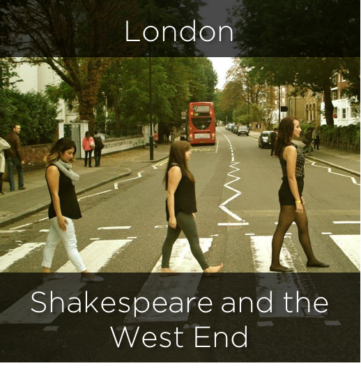 london, shakespeare and the west end