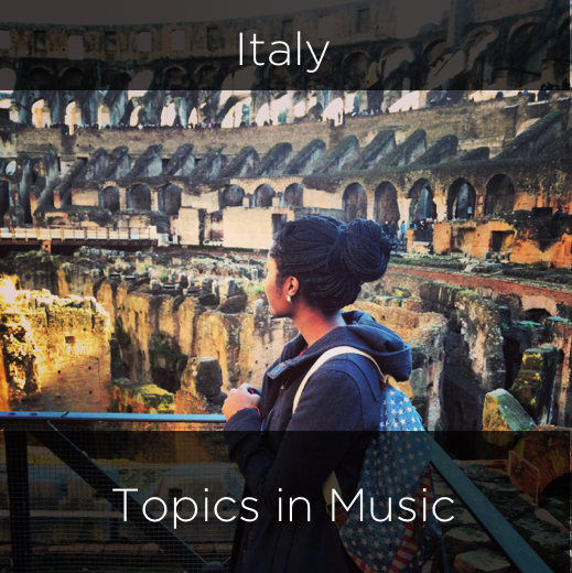italy, topics in music